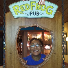 Loved to hang out at the Red Frog Pub