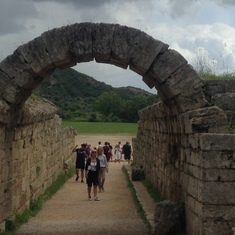 Katakolon (Olympia), Greece - Olympic Stadium entrance