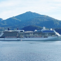 Celebrity Solstice in Juneau
