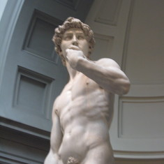 Michelangelo's David--Saw it before but never tire--Florence, Italy