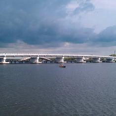 Puerto Corinto, Nicaragua - Paso Caballos bridge in Corinto Nicaragua