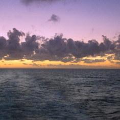 Cabo San Lucas, Mexico - Sunrise at Sea Mexico