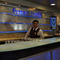Coffee bar on Royal Princess