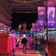 Boardwalk shops