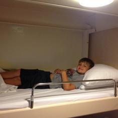 Comfy beds too!