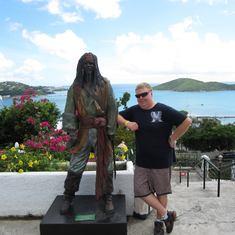 Philipsburg, St. Maarten - Captn. Jack Sparrow