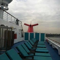 Adults-only area, Carnival Splendor