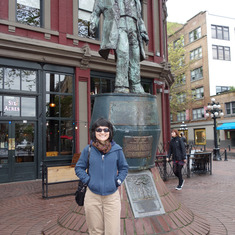 "Vancouver (Canada Place), British Columbia - ""Gassy Jack"" Statue, Gastown, Vancouver, B.C."