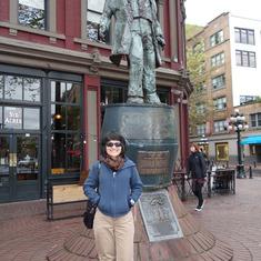 """Gassy Jack"" Statue, Gastown, Vancouver, B.C."