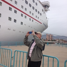 Ensenada, Mexico - a relatives first cruise. was truly impressed.