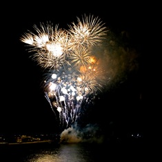 Fireworks for the Christening