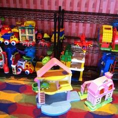 Kids' playroom, Carnival Splendor