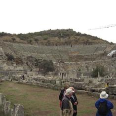 Ephesus Turkey--Theatre where Apostle Paul was involved in a riot.