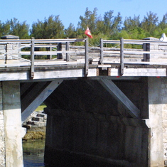 "World's smallest drawbridge - only 18"""