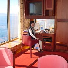 Seattle, Washington - Penthouse Living Room Desk
