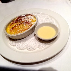 Bread Pudding with Pub Lunch