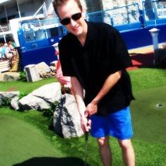 Mini-golf! I forgot to mention!