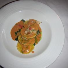 Shrimp Ravioli