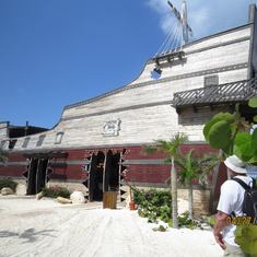 Half Moon Cay, Bahamas (Private Island) - Captain Morgan Bar on Half Moon Cay