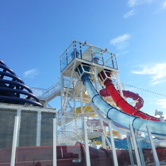 Free Fall water slide