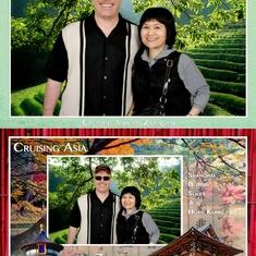 Wife & I, Asian Explorer Trip on ms Zaandam