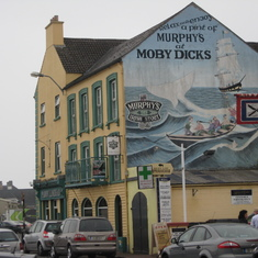 Moby Dick filmed right here in Ireland.
