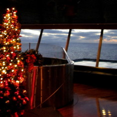 San Diego, California - On board the Veendam