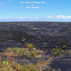 The Land of Frozen Fire in Hilo