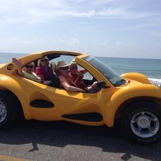 Beach tour.