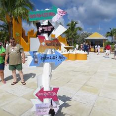 Half Moon Cay, Bahamas (Private Island) - Center Square in Half Moon Cay