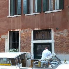 Pre-cruise hotel Locanda Orseolo, Venice, Italy