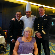 Asst. Dining Room Manager, Chef, Dining Room Manage & Me