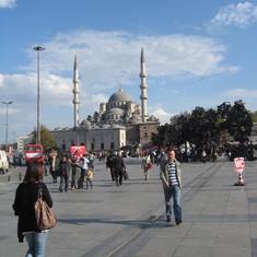 Mosk--Two minarets--Istanbul