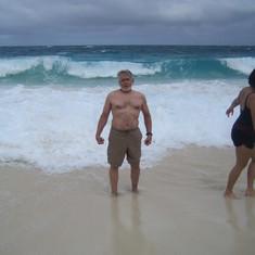 Nassau beach!