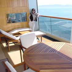 Seattle, Washington - Penthouse Balcony