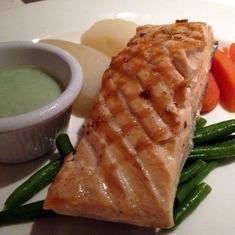 Dining Room Dinner: Salmon