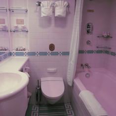 Our Bathroom - Full Size Tub!