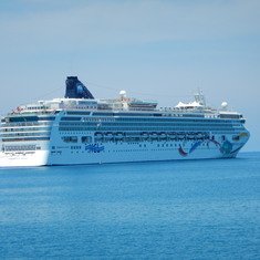 Norwegian Dawn. Loved the destination. The ship and passengers, not so much.