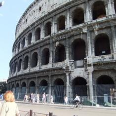 Civitavecchia (Rome), Italy - Coliseum