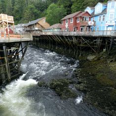 Creek Street, Ketchikan,
