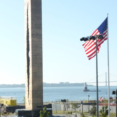 9-11 Memorial given us by the Russians Bayonne NJ