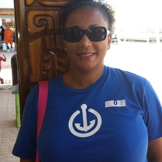 This cute t-shirt made it to Belize,