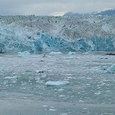 The majestic Hubbard Glacier