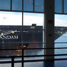 HAL's Zaandam at Canada Place, Cruise Port, Vancouver, B.C. May 2014