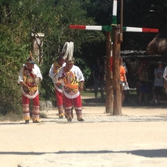 Dancers at Xcaret in Cozumel