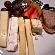 Dinner Desert Cheese Plate