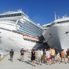 cruise on Carnival Triumph to Caribbean