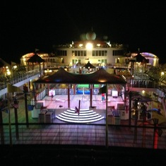Lido Deck at Night
