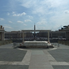 Civitavecchia (Rome), Italy - View of St Peter's square