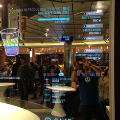 Quantum of the Seas Bionic Bar